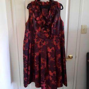 Laura Plus Special Occasion Jacquard Dress